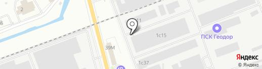 Ареал на карте Энгельса