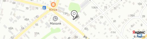 Магазин строительных и отделочных материалов на карте Энгельса