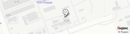 Молвест на карте Энгельса