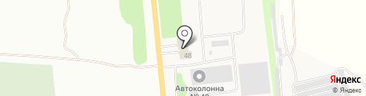 Моторком на карте Пробуждения