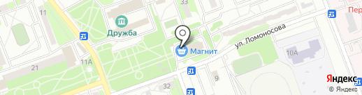 Магазин кондитерских изделий на карте Энгельса