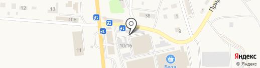 Магазин автозапчастей на карте Пробуждения