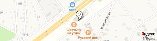 Qiwi на карте Новогусельского