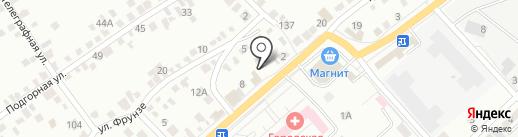 Вентэл на карте Энгельса