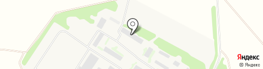 Производственная фирма на карте Новопушкинского