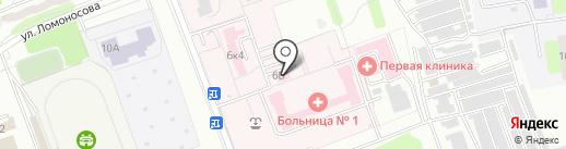 РОСНО-МС на карте Энгельса