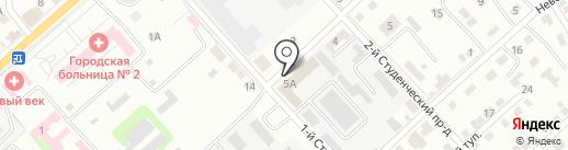 ПМК №16 на карте Энгельса