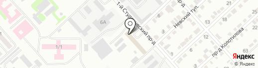 Янтарь на карте Энгельса