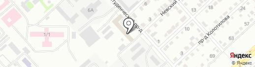 СарКомплект на карте Энгельса