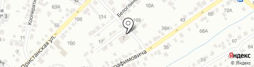 Баня №7 на карте Энгельса