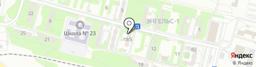 ВоротаСам на карте Энгельса