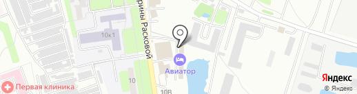 Авиатор на карте Энгельса