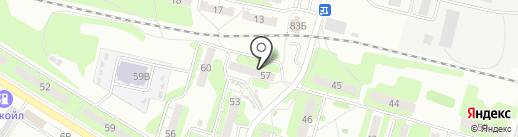 Lucky sushi на карте Энгельса