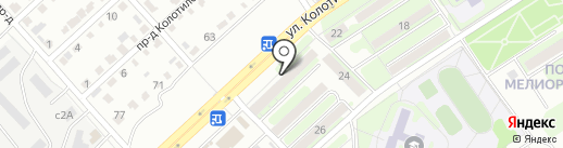 Магазин автозапчастей для ВАЗ на карте Энгельса
