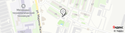 Селена на карте Энгельса