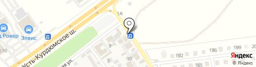 Муравейник на карте Новогусельского