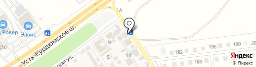 Светлячок на карте Новогусельского