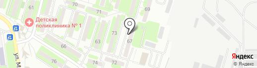 Асгард на карте Энгельса