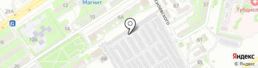 Мелиоратор №8 на карте Энгельса