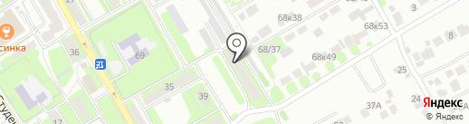 ТеплоПокровск на карте Энгельса