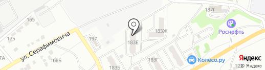 Волжский изумруд на карте Энгельса