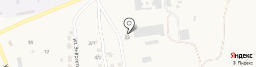 Пожарная часть №65 на карте Красного Яра