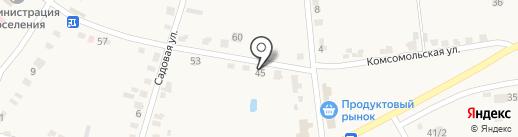 Магазин одежды и обуви на карте Красного Яра