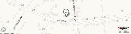 Ереминко на карте Красного Яра