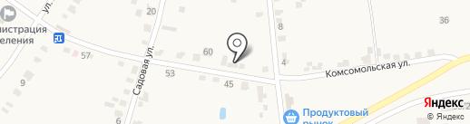 Эстет-С на карте Красного Яра