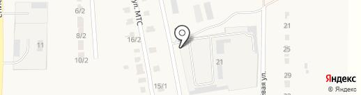 Время-91 на карте Красного Яра