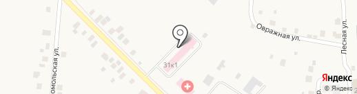 Чебоксарская центральная районная больница на карте Ишлей