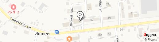 Фемида-К-Профи на карте Ишлей