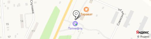 АЗС Tatneft на карте Ишлей