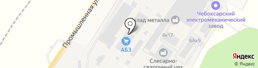АБЗ на карте Ишлей