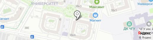 Автоаптека на карте Чебоксар