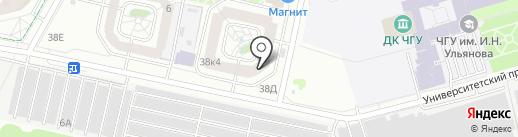 LUDI на карте Чебоксар