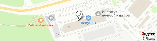 Чулочно-трикотажная фабрика на карте Чебоксар