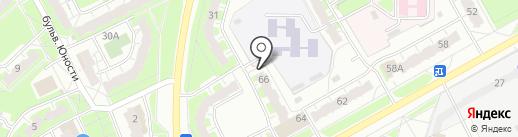 Управление финансово-производственного обеспечения муниципальных учреждений культуры г. Чебоксары на карте Чебоксар