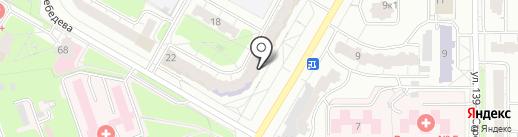 Мировые судьи Московского района на карте Чебоксар