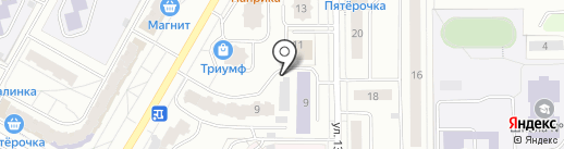 Автофорсаж на карте Чебоксар