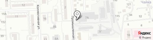 Завод КриалЭнергоСтрой на карте Чебоксар