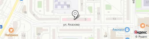 Городская детская больница №1 на карте Чебоксар