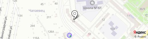 Исток на карте Чебоксар