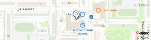Полет на карте Чебоксар