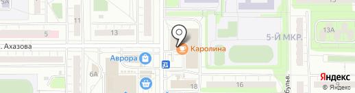 Магазин детских товаров на карте Чебоксар