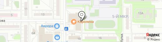 Пекарня на карте Чебоксар