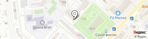 Инструмент 21 на карте Чебоксар
