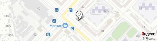 S5 на карте Чебоксар
