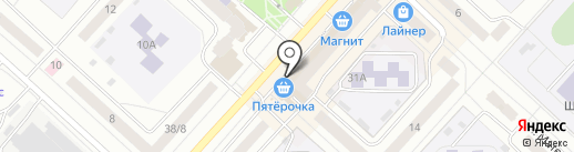 Магазин детской обуви на карте Чебоксар