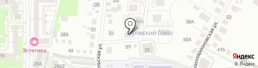 Выгода на карте Чебоксар